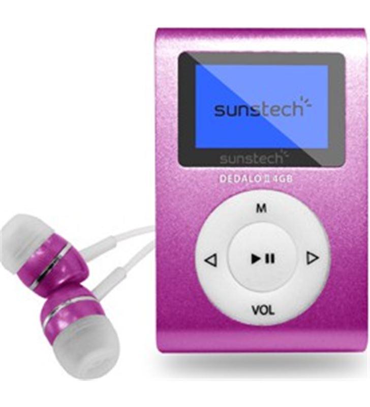 Mp3 4gb Sunstech dedaloiii rosa DEDALOIII4GBPK Reproductores MP3/4/5 - DEDALOIII4GBPK