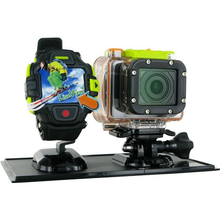Videocamara accion Hp ac300w negro 112842
