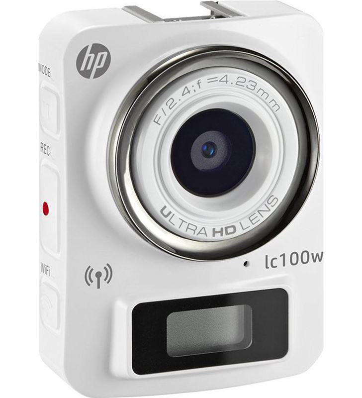 Videocamara accion Hp lc100w blanca 11280 Cámaras - LC1000W