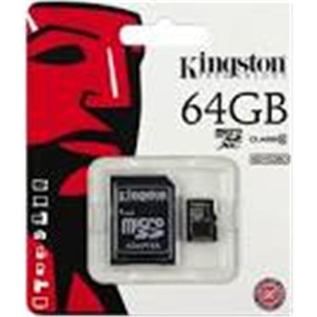 Tarjeta micro sd 64gb Kingston SDC10G264GB