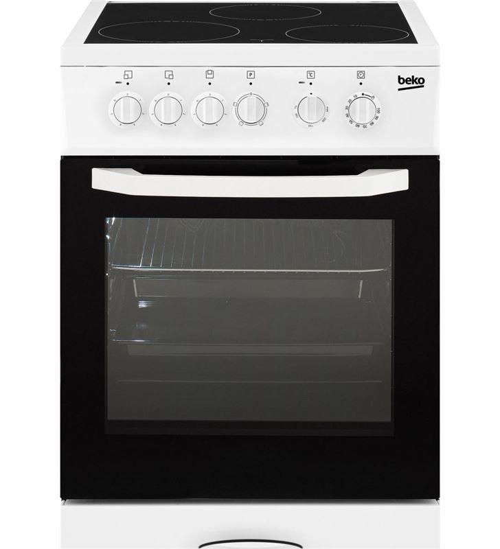 Beko CSS48100GW cocina vitro 3f 85x50cm blanca Cocinas - CSS48100GW