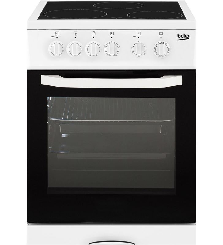 Cocina vitro Beko CSS48100GW 3f 85x50cm blanca - CSS48100GW