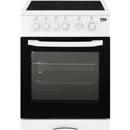 Cocina vitro Beko CSS48100GW 3f 85x50cm blanca