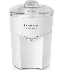 Exprimidor Taurus duplo juice blanco 30w 924174 - DUPLO JUICE