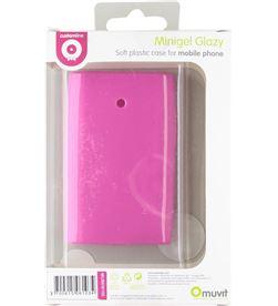 Muvit MUSKI0100 funda minigel rosa lg l3 Accesorios telefonia - MUSKI0100