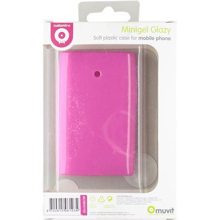 Muvit funda minigel rosa lg l3 muski0100
