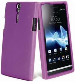 Muvit funda silicona lila sony xperia u murub0048 Accesorios telefonia - MURUB0048