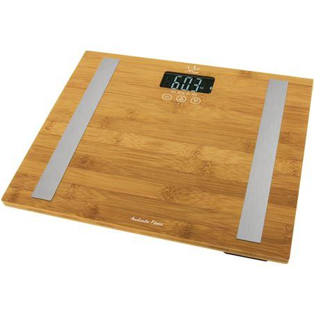 Bascula baño Jata hogar 557 analitz fitness bambu 577