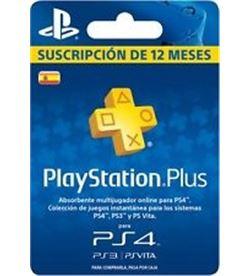 Sony playstation plus suscripcion 365d 49.99€ 44493 - 44493
