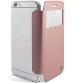 Funda Ksix crystal view iphone 6/6s dorada rosa B0925FU27GR - B0925FU27GR