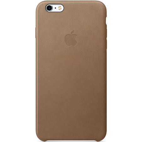 Funda Apple iphone 6s plus piell case marron MKX92ZM/A
