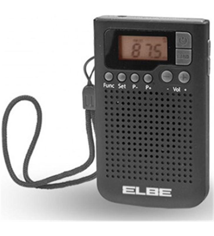 Elbe RF93 radio bolsillo digital negra Radio Radio/CD - RF93