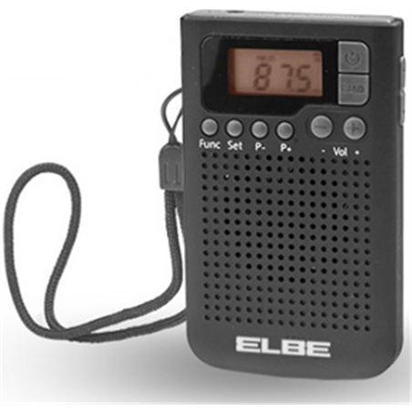 Radio bolsillo Elbe RF93 digital negra