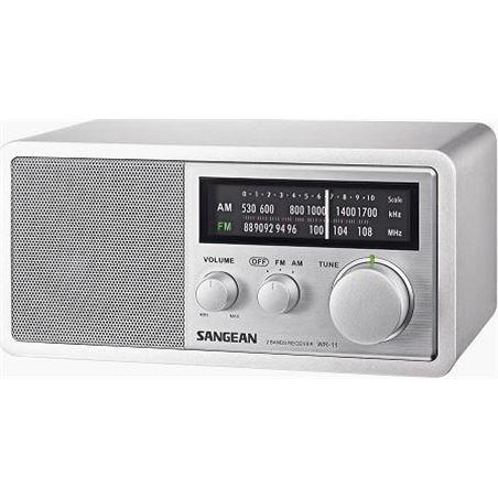 Radio analogica am-fm Sangean wr-11 silver WR-11SILVER