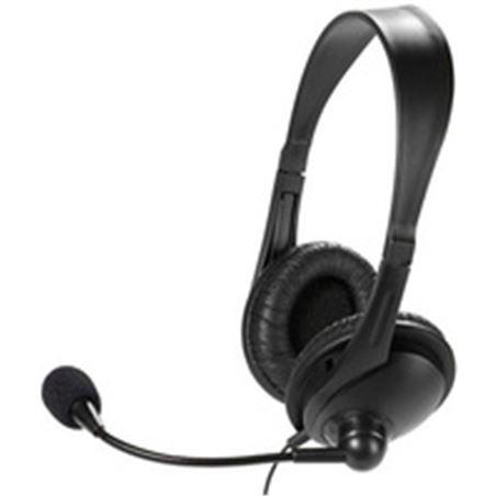 Vivanco auricular diadema micro negro 36671