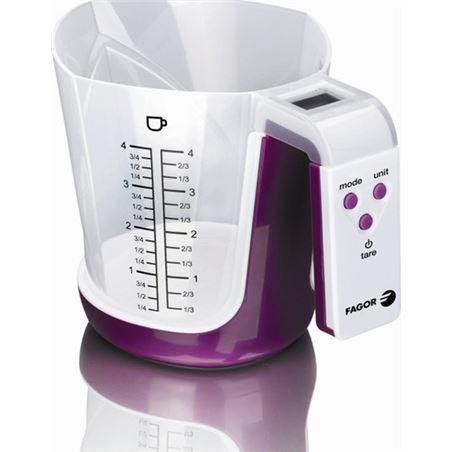 Balanza cocina Fagor bc500 diseño con jarra 976010022