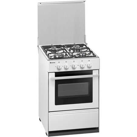 Cocina gas Meireles G2540VW 4f 53cm but blanca