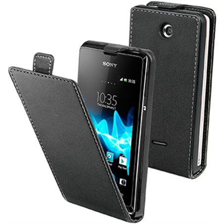 Made funda slim negra sony xperia e sesli0032