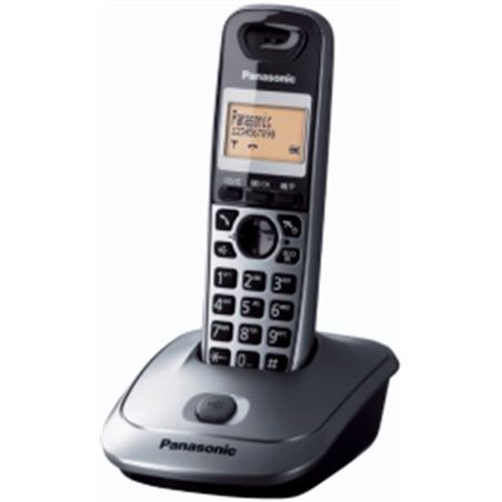 Telefono inal Panasonic kx-tg2511spm gris metalico kxtg2511spm