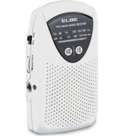 Elbe RF50 radio mini bolsillo blanca Radio Radio/CD - RF50