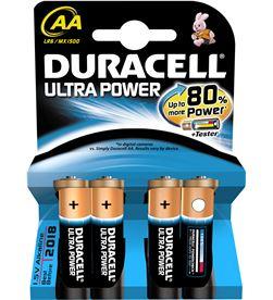 Pilas Duracell ultra power aa(lr06) 4 un alcalinas AALR06ULTRA - AA(LR06)ULTRA