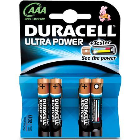 Pilas Duracell ultra power aaa(lr03) 4 un alcalina AAA(LR03)ULTRA