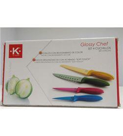 Kforkitchen cuchillo k for kitchen 4unid 7236030 Otros - 7236030