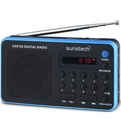 Radio portatil Sunstech RPDS32BL azul Radio Radio/CD - RPDS32BL