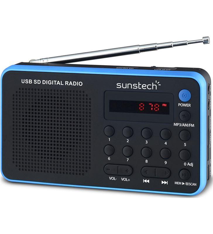 Sunstech RPDS32BL radio portatil azul Radio Radio/CD - RPDS32BL