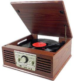 Tocadiscos Sunstech PXR4CDWD Giradiscos tocadiscos - PXR4CDWD