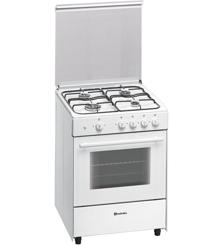Meireles G640VMEW cocina gas 4f 60cm but blanca 5604409121905 - G640VMEW