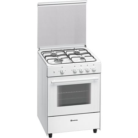 Cocina gas Meireles g640vmew 4f 60cm but blanca