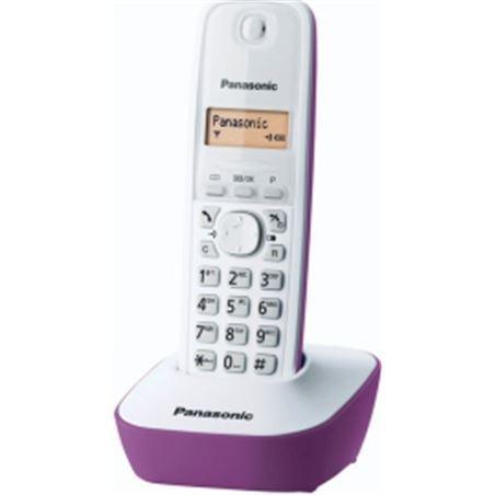 Telefono inal Panasonic kx-tg1611jtf blanco/fucsia 114044