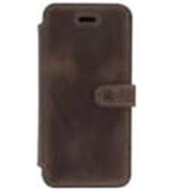 Akashi ALTFOLIOCI6+BDK funda piel iphone 6 / 6s plus marro - ALTFOLIOCI6-BDK