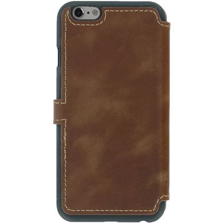 Funda piel Akashi iphone 6 / 6s marron ALTFOLIOCI6BRDK