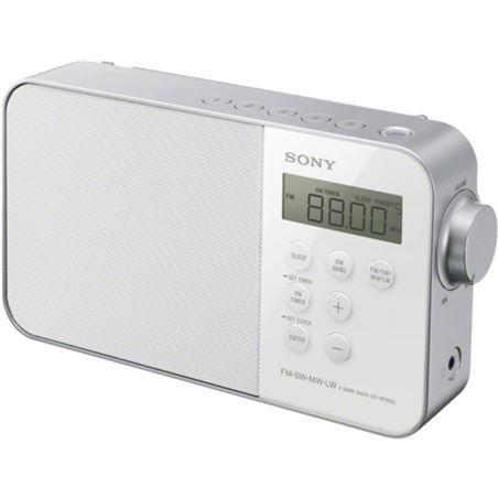 Radio Sony icf-m780slw fm/sw/mw/lw blanca ICFM780SLW