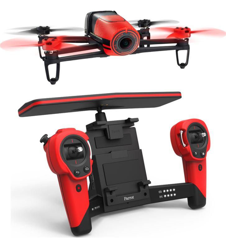 Dron Parrot bebop & skycontroller rojo P153655 Outdoor - PF725100AA