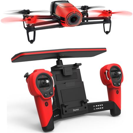 Dron Parrot bebop & skycontroller rojo P153655
