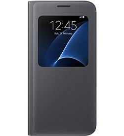 Funda Samsung cover galaxy s7 negra SAEFCG930PB - SAEFCG930PB
