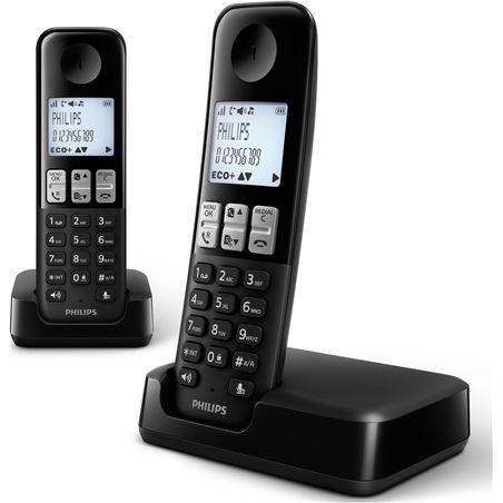Telefono inal Philips d2302b/23 duo manos libres