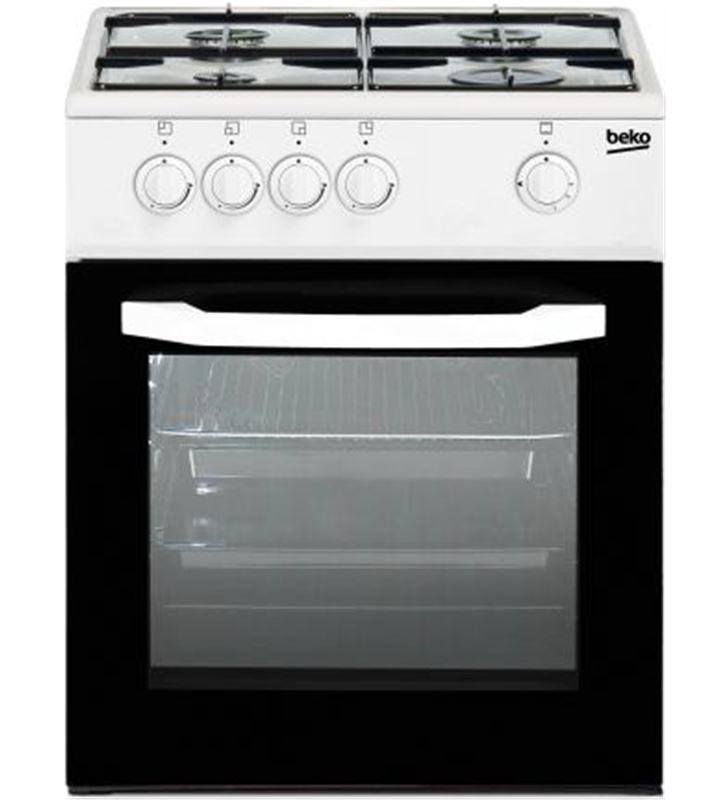 Cocina gas Beko CSG42009DW 4f blanca but Cocinas - CSG42009DW