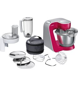Bosch robot cocina mum58420 rojo plata BOSMUM58420 - MUM58420
