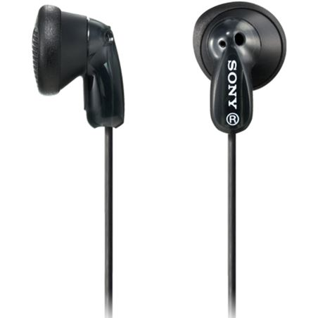 Auricular boton Sony mdre9lpb.ae negro MDRE9LPBAE