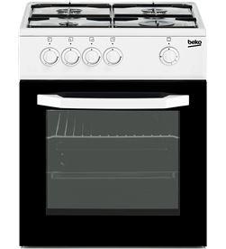 Beko cocina gas 4f blanca CSG42010DWN - CSG42010DWN