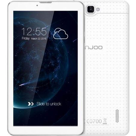 """Tablet 7"""" Injoo f5 3g quad core 8gb blanca F5WH"""