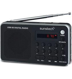 Sunstech RPDS32SL radio portatil plata Radio Radio/CD - RPDS32SL