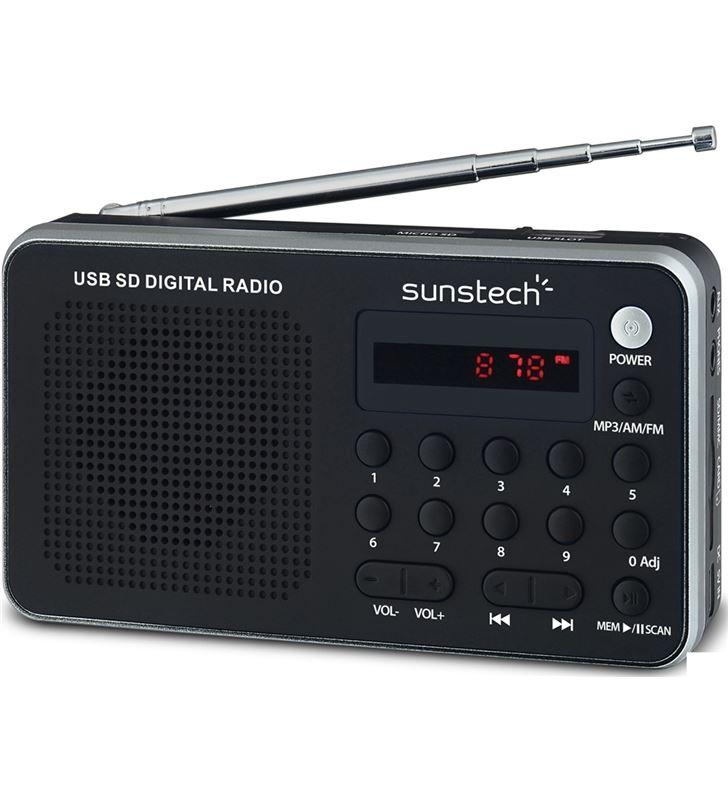 Sunstech radio portatil RPDS32SL plata Radio Radio/CD - RPDS32SL