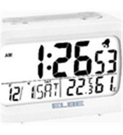 Elbe reloj despertador digital blanco rd009 RD009B - RD009