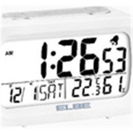 Elbe reloj despertador digital blanco rd009 RD009B