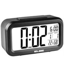 Elbe reloj despertador digital negro RD668N Radio Radio/CD - RD668N